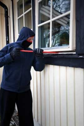 Burglaries on the rise