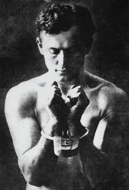 Magician Harry Houdini (ca. 1900)