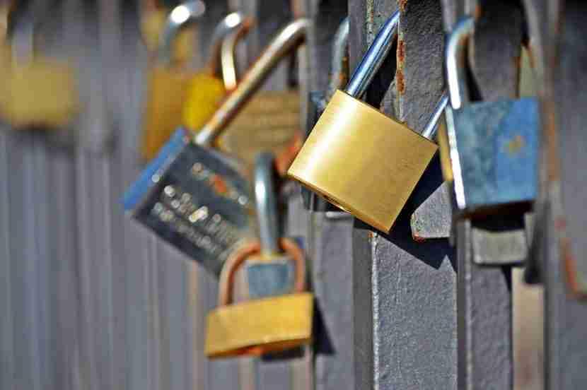 The most common locks