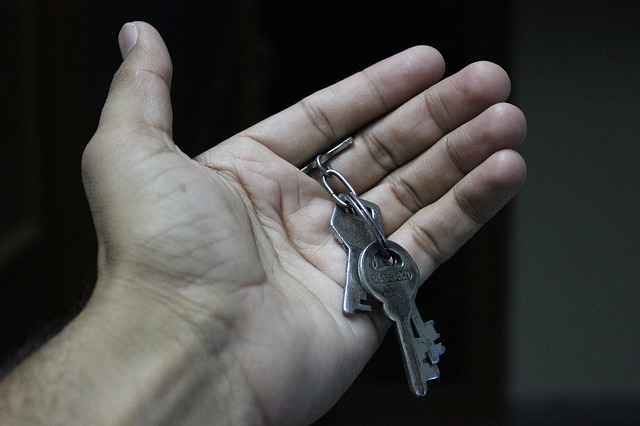 Spare keys from a trusted friend