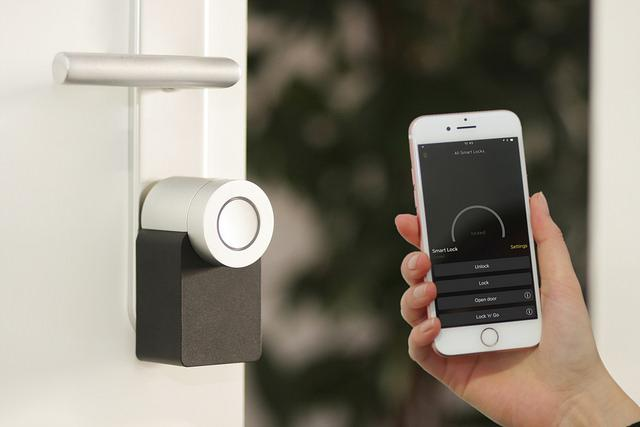 different types of smart locks for doors