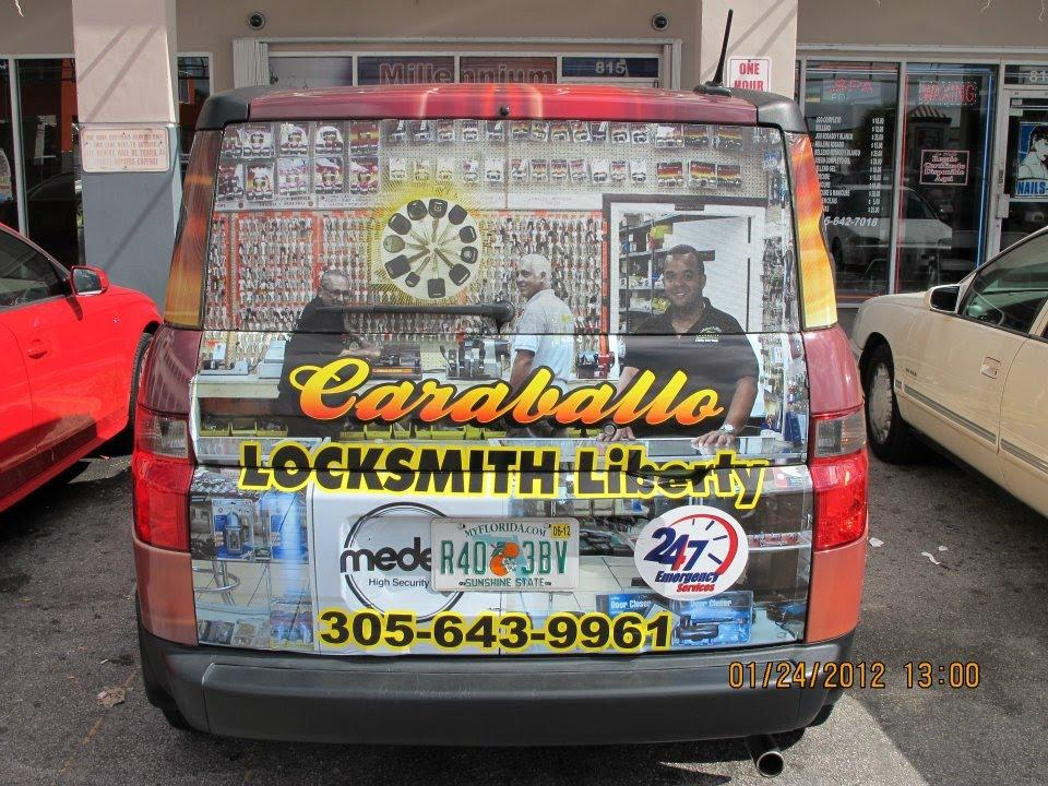 caraballo liberty locksmith copy key services