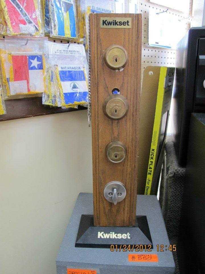 Kwikset Deadbolt locks