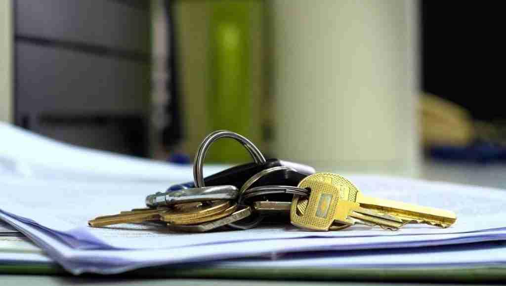 sign out keys