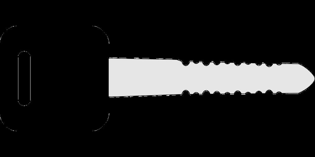 removing broken keys
