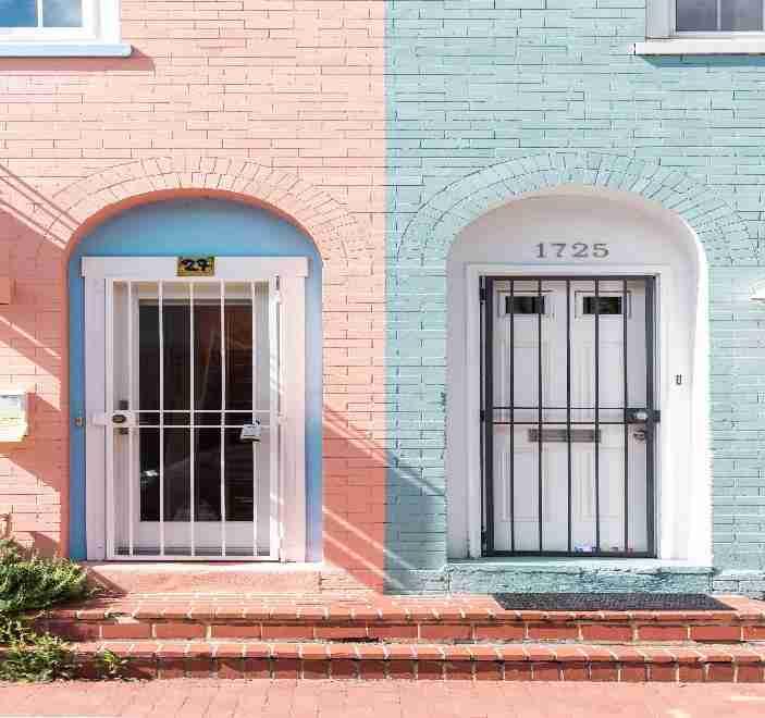 install exterior security doors