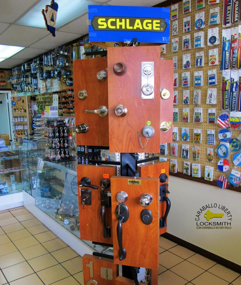 high security door locks in Miami store