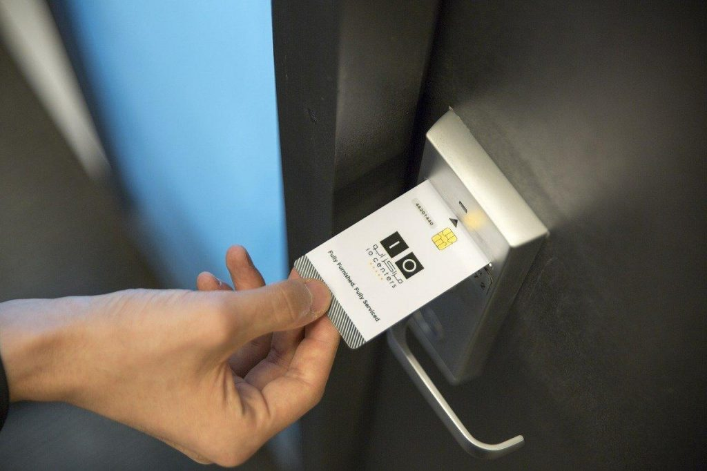 card access control system proper installation