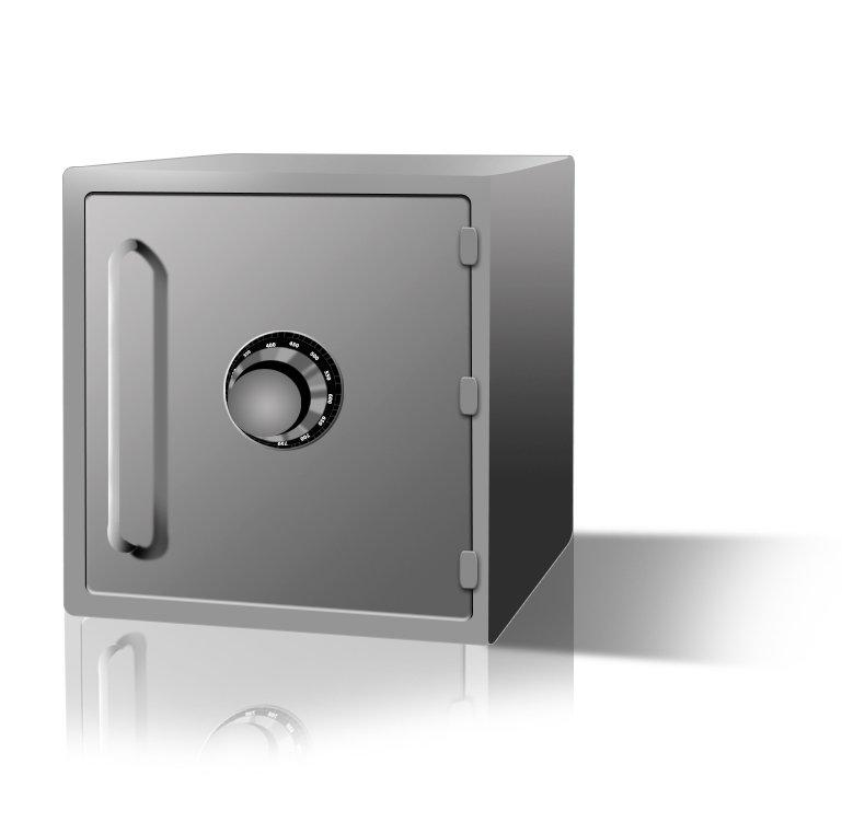 think about using the safes key to open it