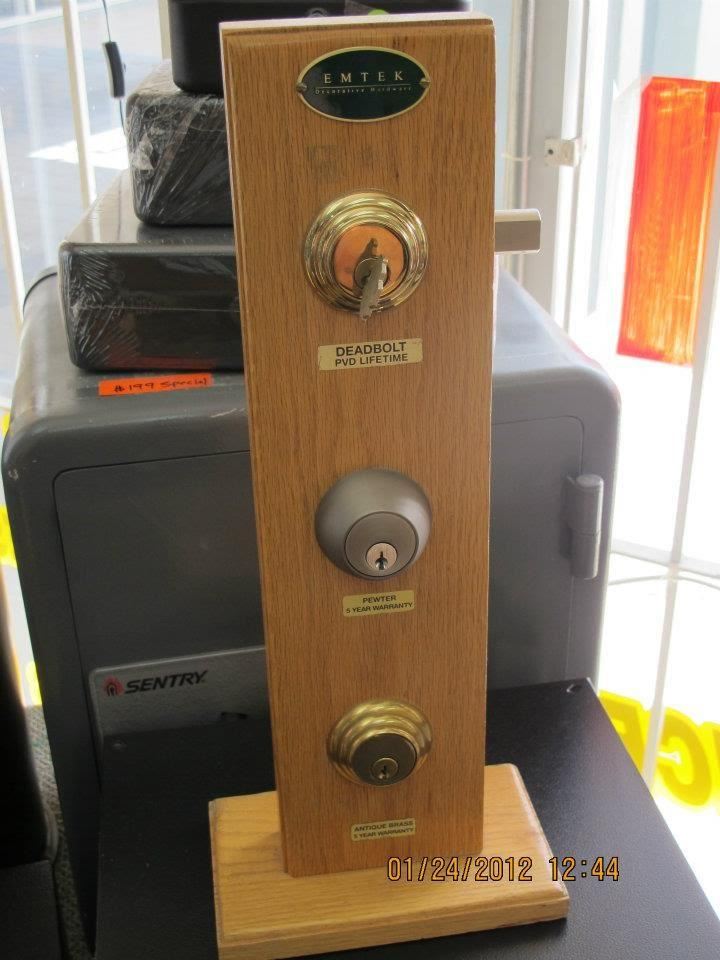 deadbolt lock installations