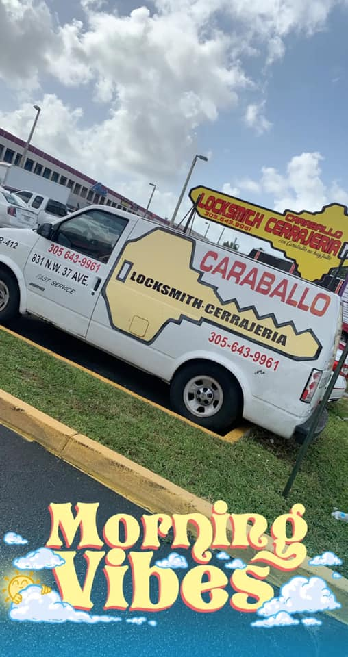 Caraballo Liberty Locksmith service van