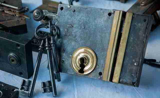 antique lock-locksmith