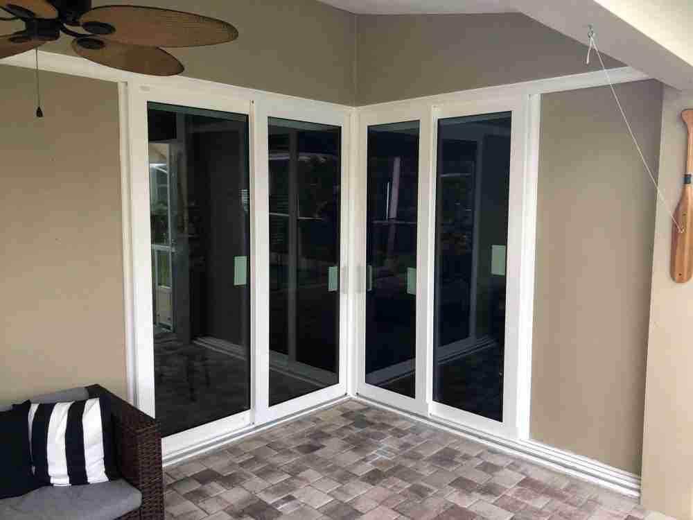 sliding glass door lock installation